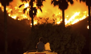 Experts have warned that massive wildfires are becoming the new normal for the state.
