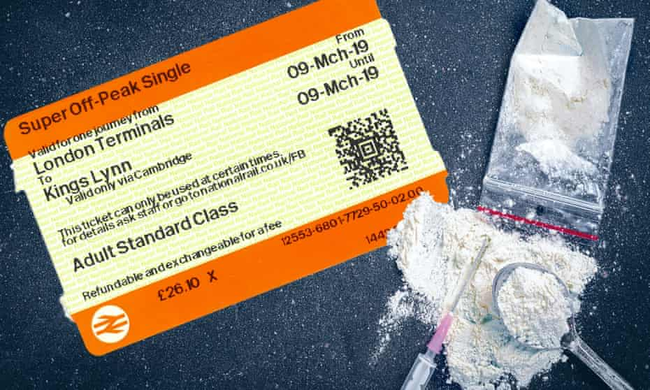 Travelcard and drugs