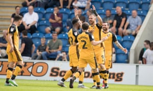 Tom Pope's goal for Port Vale in the draw at Colchester meant the League Two side have now gone 15 seasons unbeaten in Football League openers.