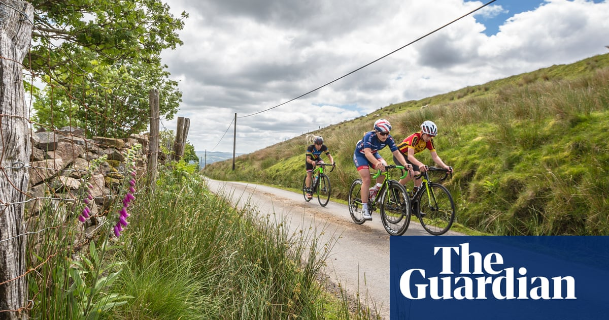 'It makes you feel alive while half-killing you': cycling in Carmarthenshire