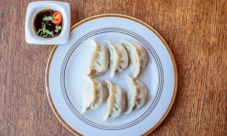 'Precisely crisped on the bottom': beef dumplings.