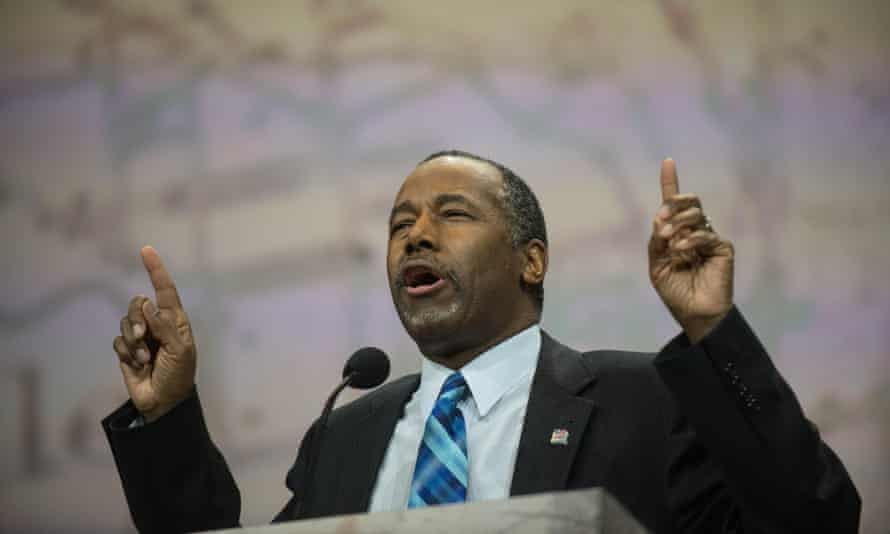 Ben Carson, a renowned neurosurgeon, has rejected the theory of evolution.