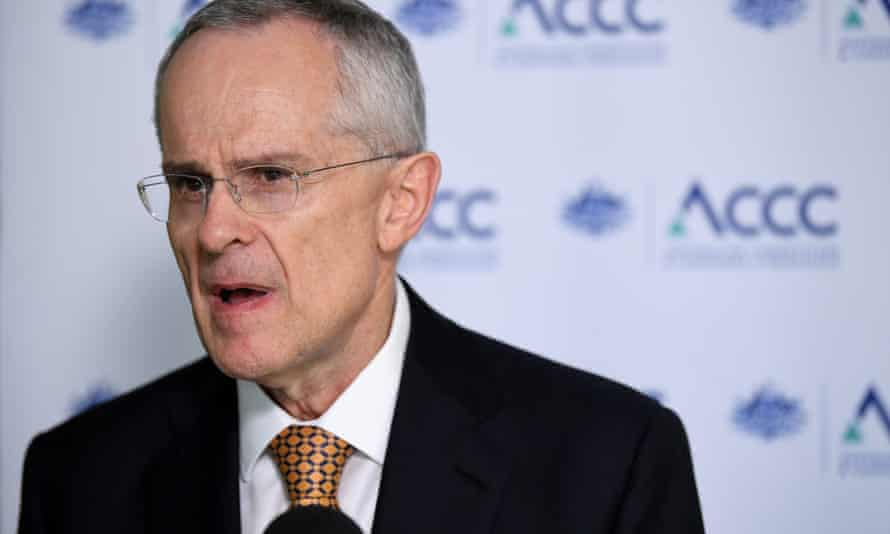 Australian Competition and Consumer Commission chairman Rod Sims