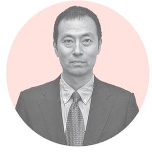Nobuyuki Suzuki of Tokyo Shimbum