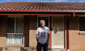 Mark Lanyon at his home in Foster, Victoria