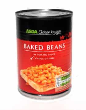 Asda baked beans