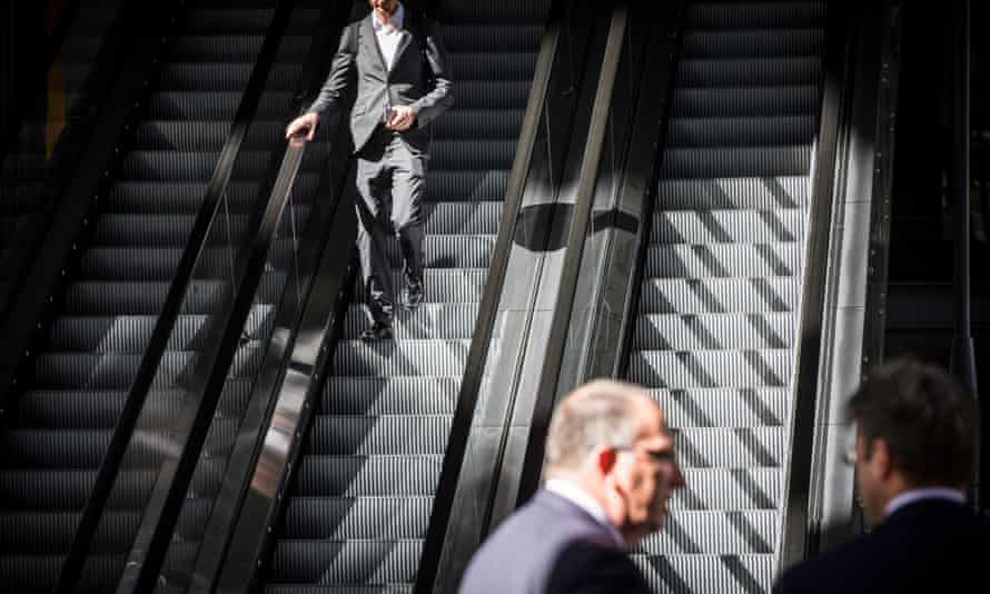 The report suggests attitudes to pay among City of London workers are skewed by the proximity of the super-rich.
