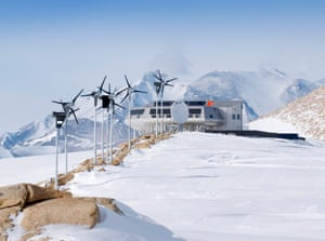 Polar research stations: Princess Elisabeth Station, Belare 2008/9