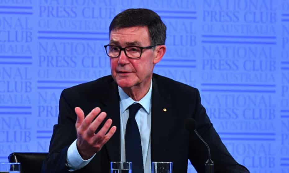 Former Australian defence chief Angus Houston