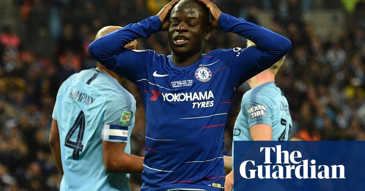 huge discount dc25c 433a4 Chelsea's N'Golo Kanté set to miss Europa League final with ...