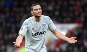 West Ham's Andy Carroll