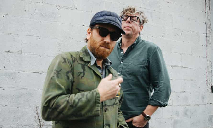 Dan Auerbach and Patrick Carney of The Black Keys.