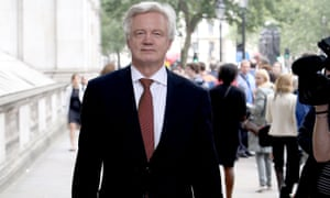 David Davis will be in charge of the government's Brexit unit.