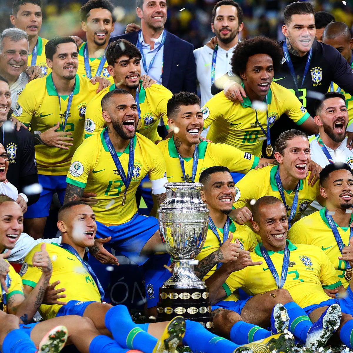 Brazil break free from the Neymar imbalance to win Copa América   Brazil    The Guardian