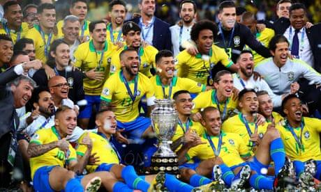 Brazil break free from the Neymar imbalance to win Copa América   Jonathan Wilson