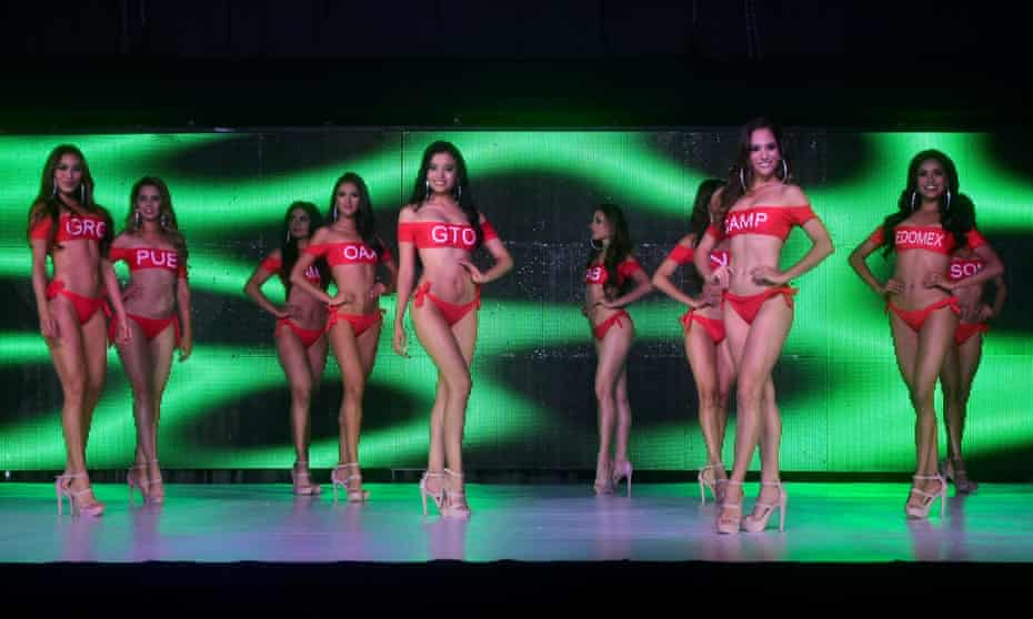 Contestants in the Miss Mexico 2021 pageant