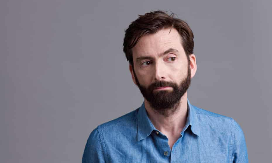 David Tennant photographed in London by Suki Dhanda for the Observer New Review.