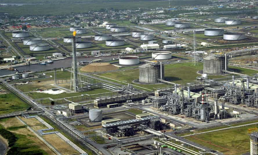 An oil terminal in southern Nigeria.