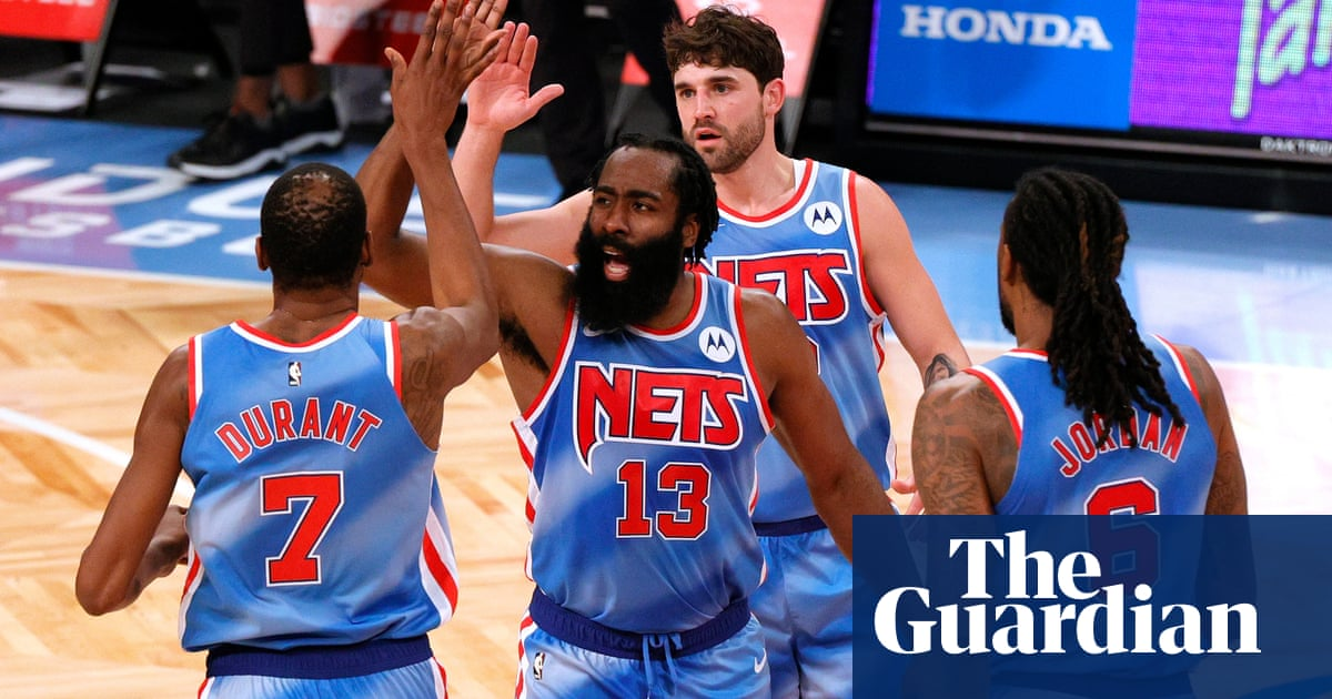 No practice, no problem: James Harden explodes for triple-double in Nets debut