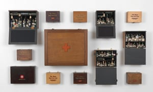 Susan Hiller's Emergency case: Homage to Joseph Beuys, 1969-2012.