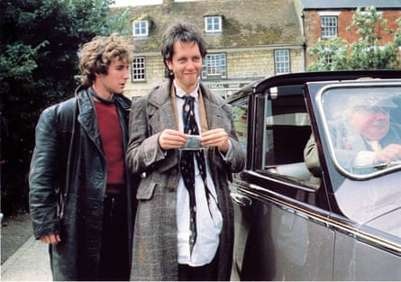 Paul McGann, Richard E Grant and Richard Griffiths in Withnail and I.