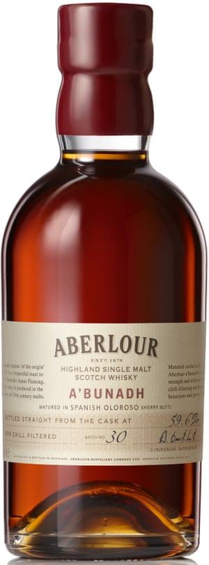 Aberlour's A'bunadh Cask Strengt
