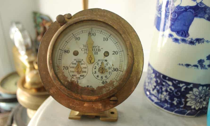 A Walker's Cherub Ship Log found in an antique store in Surabaya, sold directly to the store from a traditional diver.
