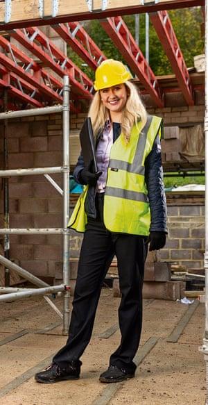 Former apprentice Sophie Smith is a building surveyor at Atkins