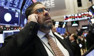 A trader in New York
