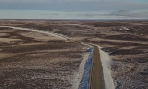 Canada is preparing to open its first all-season highway linking the country's south to the Arctic ocean.
