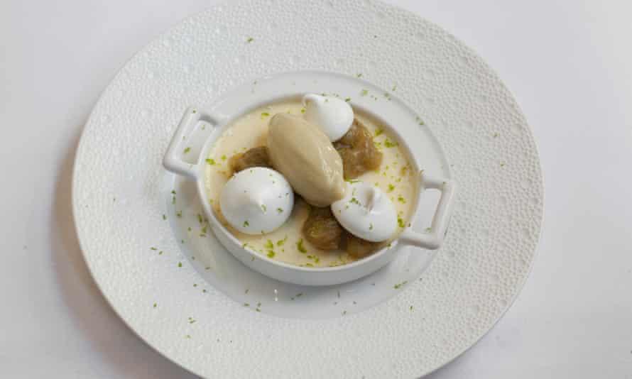 'So pointedly citrus-sharp it makes you shiver, but in a good way': lemon crème pot.