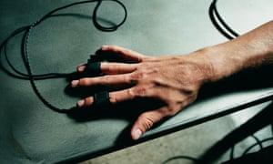 Polygraph lie-detector test