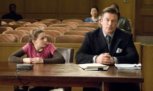 Abigail Breslin and Alec Baldwin in the film adaptation of Picoult's novel My Sister's Keeper.