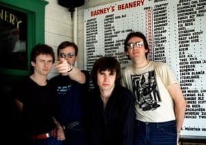 'That song is my life' … from left, Terry Chambers, Andy Partridge, Colin Moulding and Dave Gregory.