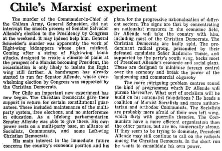 Guardian editorial, 27 October 1970.