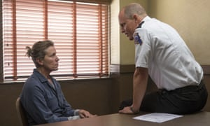 Frances McDormand and Woody Harrelson in aThree Billboards Outside Ebbing, Missouri.