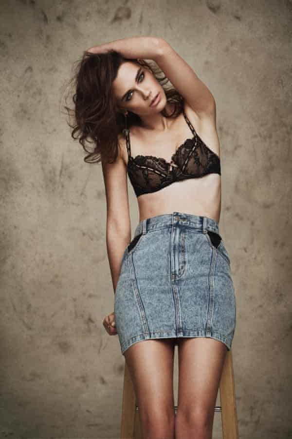 Rosie Nelson says she does not want models to be rated on their body mass index.