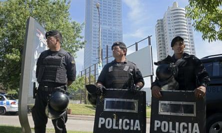 uruguay police