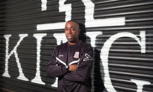 Jamie Lawrence, whose clubs included Bradford, says: 'I was lucky because I had someone in the prison system who believed in me.'