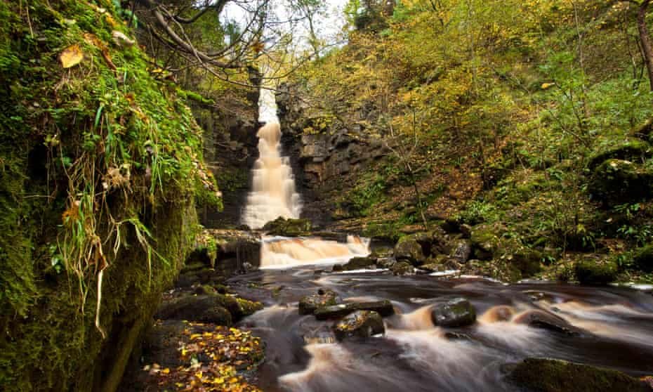 Mill Gill Force, Whitfield Beck, Askrigg, Wensleydale, Yorkshire Dales national park