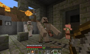 In the the Oculus version of Minecraft, the development team has had to remove the screen shake that usually accompanies being hit by a sword or arrow