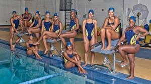 North Carolina A&T women's swimming team