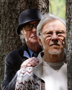 Michael Caine with Harvey Keitel in Youth