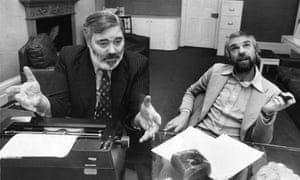 Alan Simpson and Ray Galton in 1977.