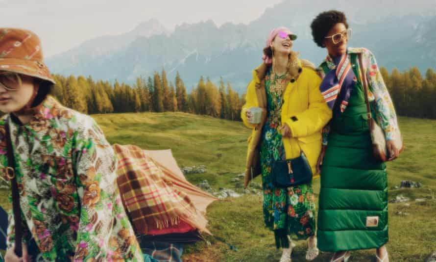 Gucci x North Face puffer jackets are the 'peak gorpcore' for young trendsetters.
