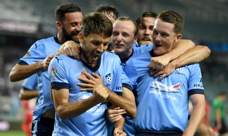 Sydney FC's premiership procession rolls on while A-League falters