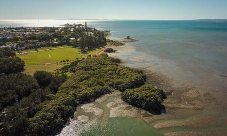 GJ Walter Park on Toondah Harbour in Queensland's Moreton Bay.