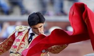 Victor Barrio at Madrid's Las Ventas bullring in April last year.