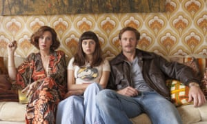'Beautifully and horribly well-observed' ... Kristen Wiig, Bel Powley and Alexander Skarsgard in The Diary of a Teenage Girl.
