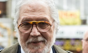 Dave Lee Travis outside the court of appeal